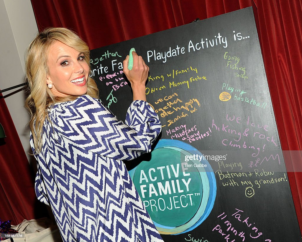 Emmy-winning co-host <a gi-track='captionPersonalityLinkClicked' href=/galleries/search?phrase=Elisabeth+Hasselbeck&family=editorial&specificpeople=234656 ng-click='$event.stopPropagation()'>Elisabeth Hasselbeck</a> attends Active Family Project Kick-Off Event at Gramercy Park Hotel Rooftop on May 6, 2013 in New York City.