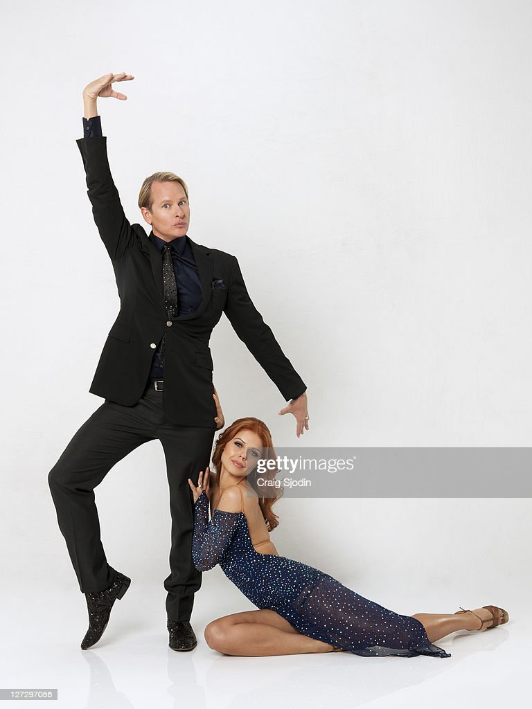 TREBUNSKAYA - (EXCLUSIVE TO GETTY IMAGES UNTIL ) Emmy-winning television star, celebrity stylist, author and fashion designer Carson Kressley is currently starring in 'Carson-Nation,' a one-hour reality show on Oprah Winfrey's OWN, in which he travels to small towns throughout the U.S., transforming lives one person at a time. He partners with ANNA TREBUNSKAYA, who returns for her 8th season. A dynamic lineup of stars will take the stage performing either the Cha Cha Cha or The Viennese Waltz for the two-hour season premiere of 'Dancing with the Stars,' MONDAY, SEPTEMBER 19 (8:00-10:01 p.m., ET) on the ABC Television Network.