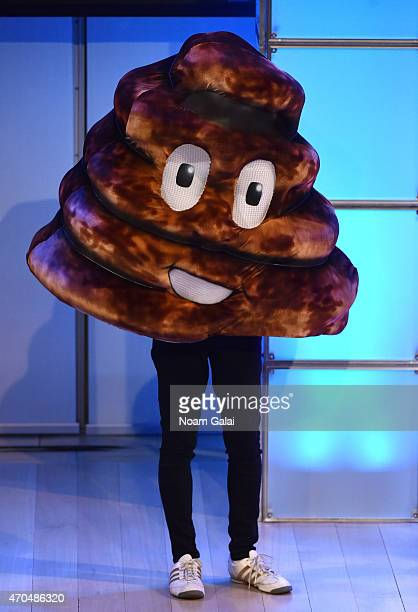 Emoji onstage during the 7th Annual Shorty Awards on April 20 2015 in New York City