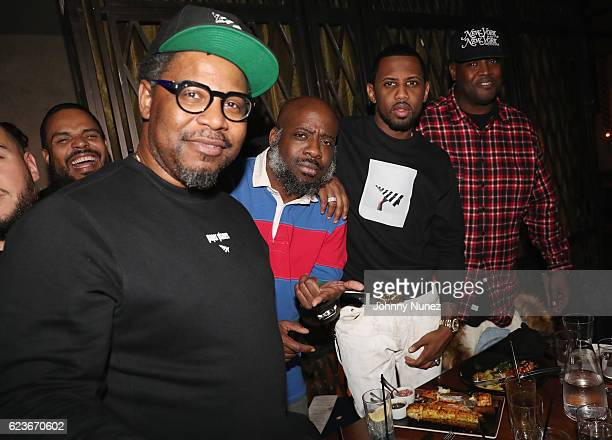 Emory Jones Set Free Fabolous and DJ Clark Kent attend The Fabolous Week Dinner Hosted By Clark Kent at Vandal on November 15 2016 in New York City