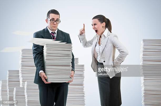 Emotionale Missbrauch am Arbeitsplatz.