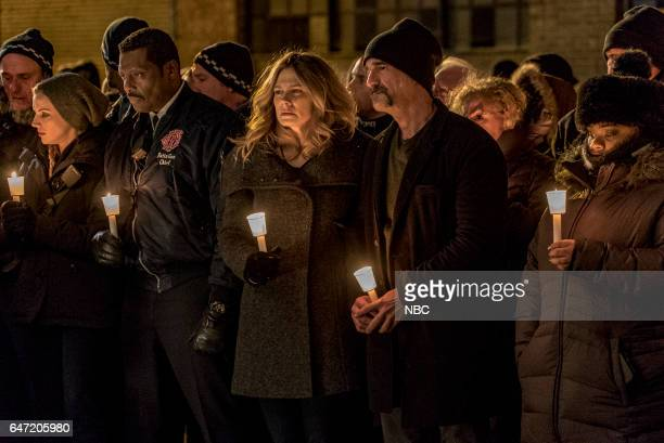 D 'Emotional Proximity' Episode 417 Pictured Kara Killmer as Sylvie Brett Eamonn Walker as Wallace Boden Melissa Carlson as Meredith Olinsky Elias...