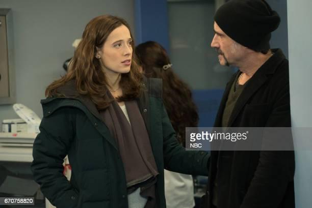 D 'Emotional Proximity' Episode 417 Pictured Marina Squerciati as Kim Burgess Elias Koteas as Alvin Olinsky