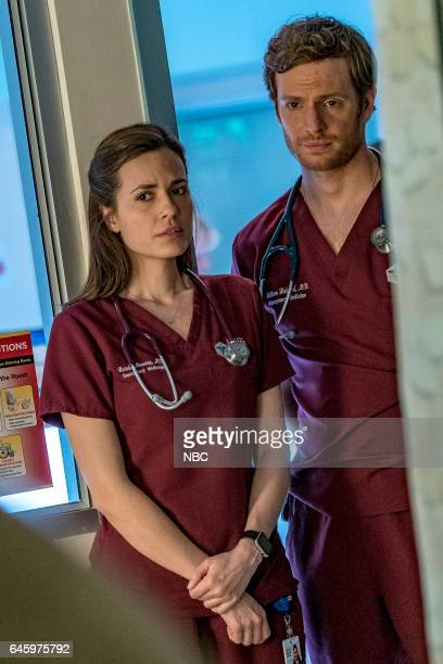 D 'Emotional Proximity' Episode 417 Pictured Torrey DeVitto as Natalie Manning Nick Gehlfuss as Will Halstead