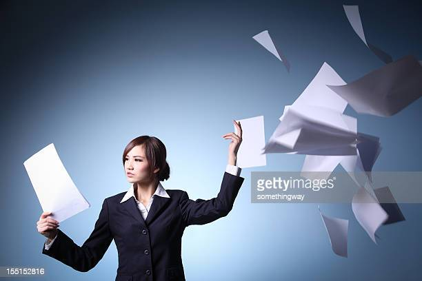 Emotional stress of Asian  Businesswomen
