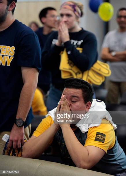 Emotions are high at UC Irvine today while students Sean Burke Mark Barcelona and Dony Rivas are elated to see their Anteaters basketball team pull...