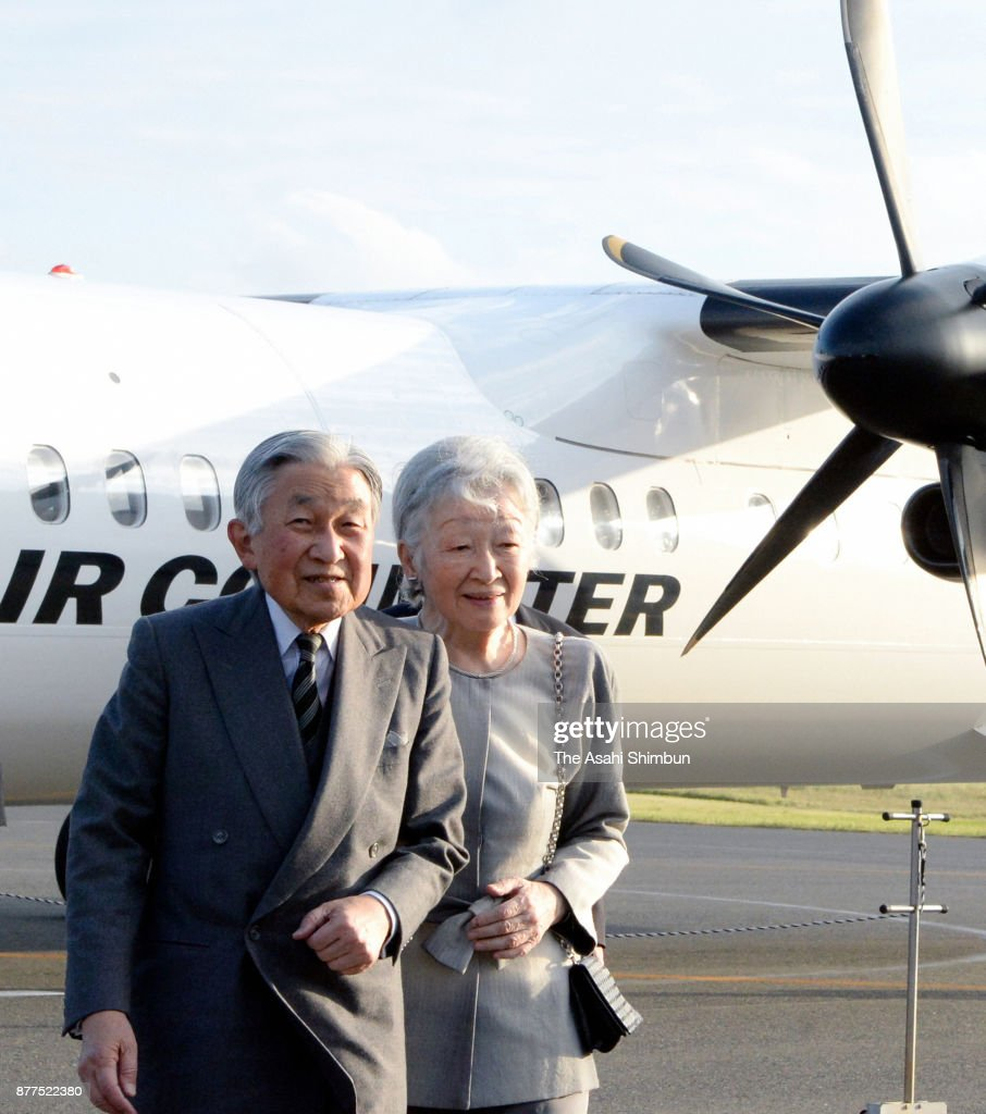 Emperor And Empress Visit Amami Islands - Day 1