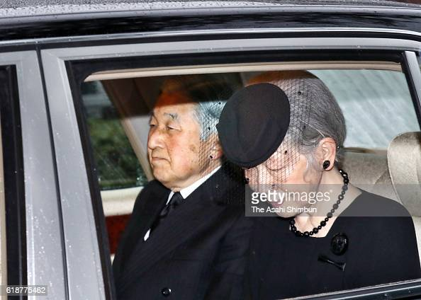 People Mourn Death Of Prince Mikasa : News Photo