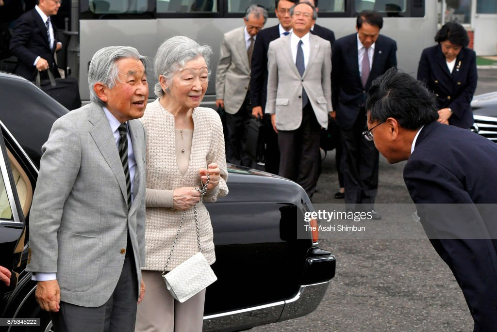Emperor And Empress Visit Amami Islands - Day 2