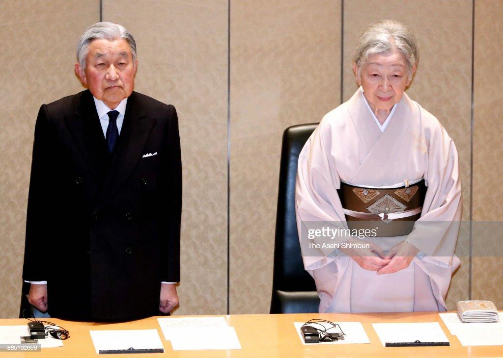 Emperor And Empress Attend International Prize For Biology Award Ceremony