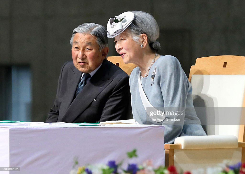 Emperor And Empress Visit Nagano - Day 2