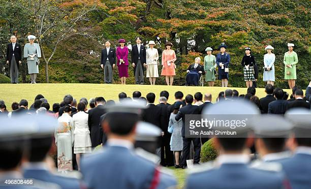 Emperor Akihito Empress Michiko Crown Prince Naruhito Crown Princess Masako Prince Akishino Princess Kiko of Akishino Princess Mako of Akishino...