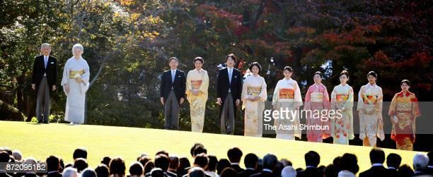 Emperor Akihito Empress Michiko Crown Prince Naruhito Crown Princess Masako Prince Akishino Princess Kiko of Akishino Princess Mako of Akishino...