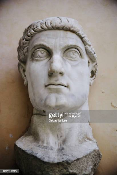Emperor Constantine II in the Capitoline Museums Rome Italy