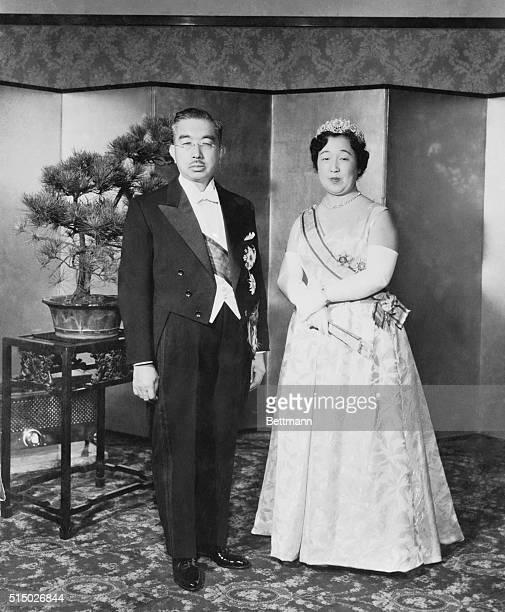 Emperor Hirohito and Empress Nagako