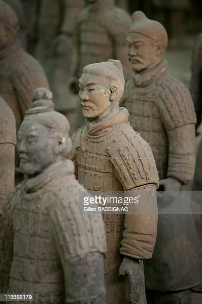 Emperor Qin Shi Huang'S Terra Cotta Soldiers In Xian China On November 29 2007 The Terra Cotta Warriors and Horses are the most significant...