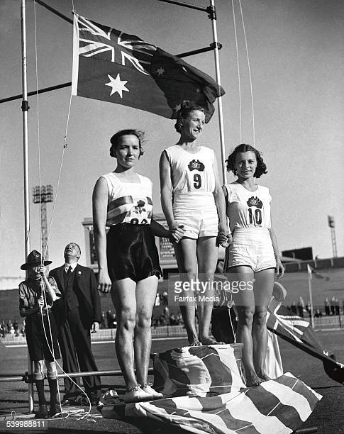 Empire Games Womans Broad Jump 7 February 1938 FAIRFAX Picture by STAFF