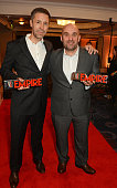 Empire Inspiration Award winner Paddy Considine and Shane Meadows winner of the Best TV Series award for 'This Is England '90' pose in the winners...