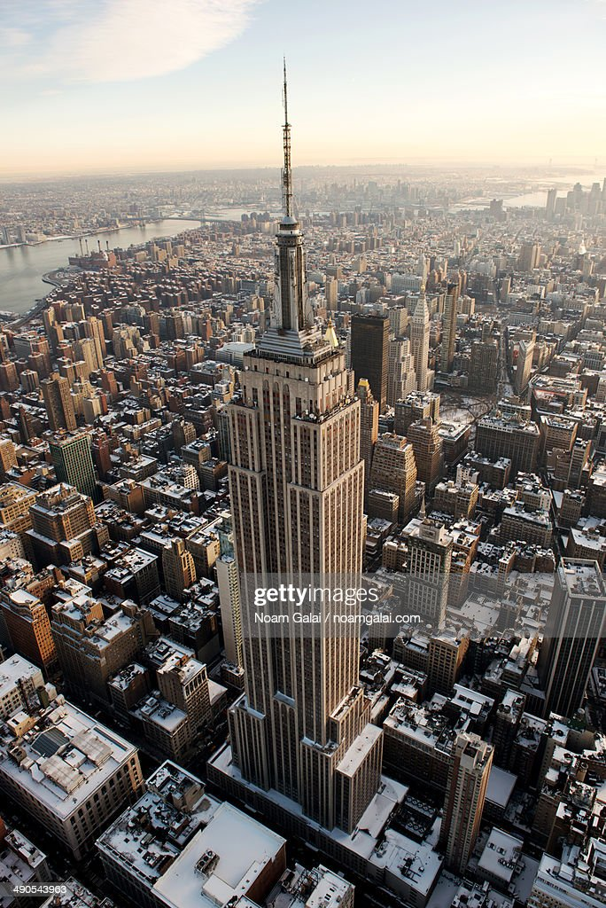 Empire State Building and NYC