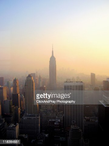 empire state building sunset - photo #49