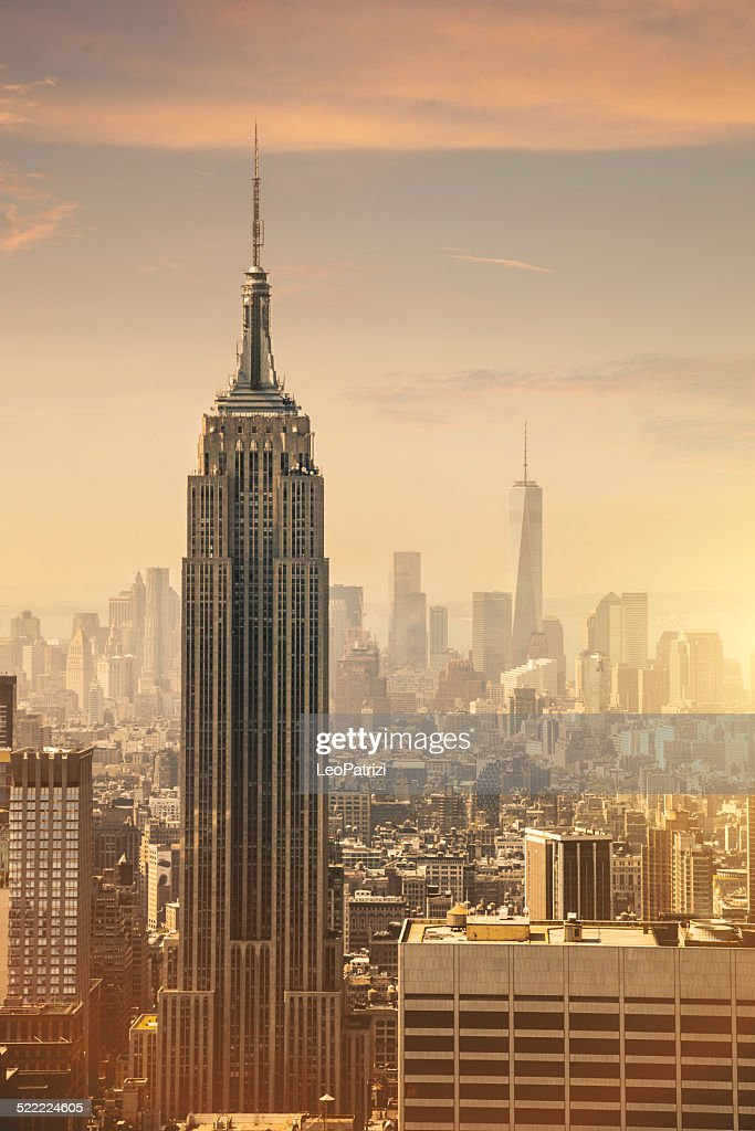 empire state building sunset - photo #16