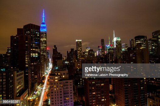 Empire State Building Fall 2015 : Stock Photo