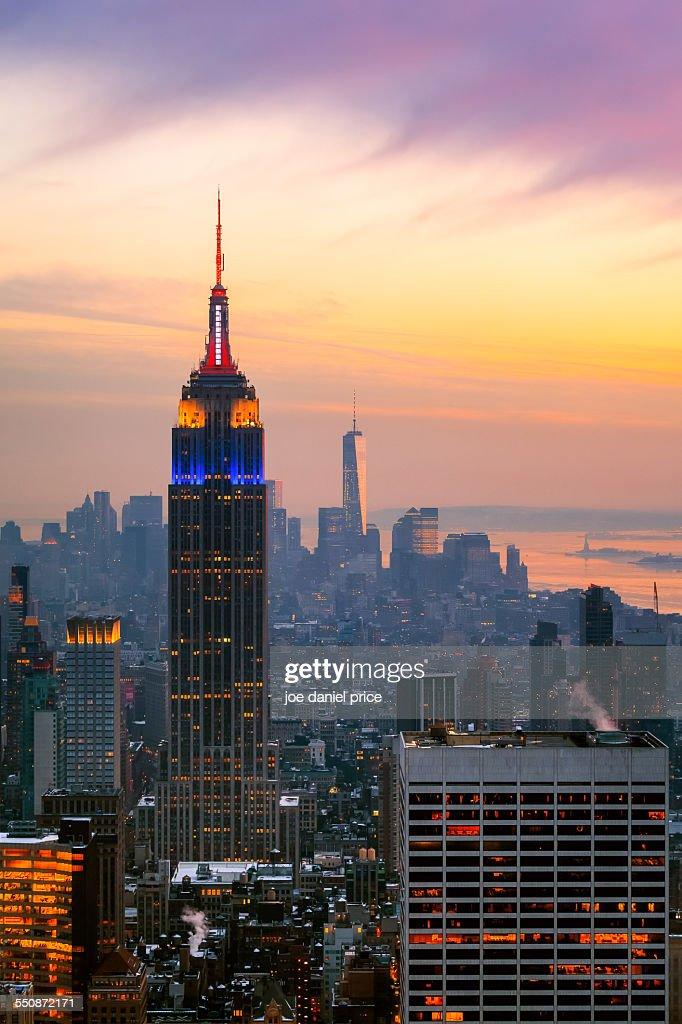 Empire State Building, New York City, America