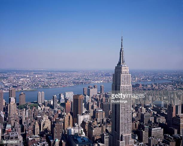 Empire State Building view of New York New York