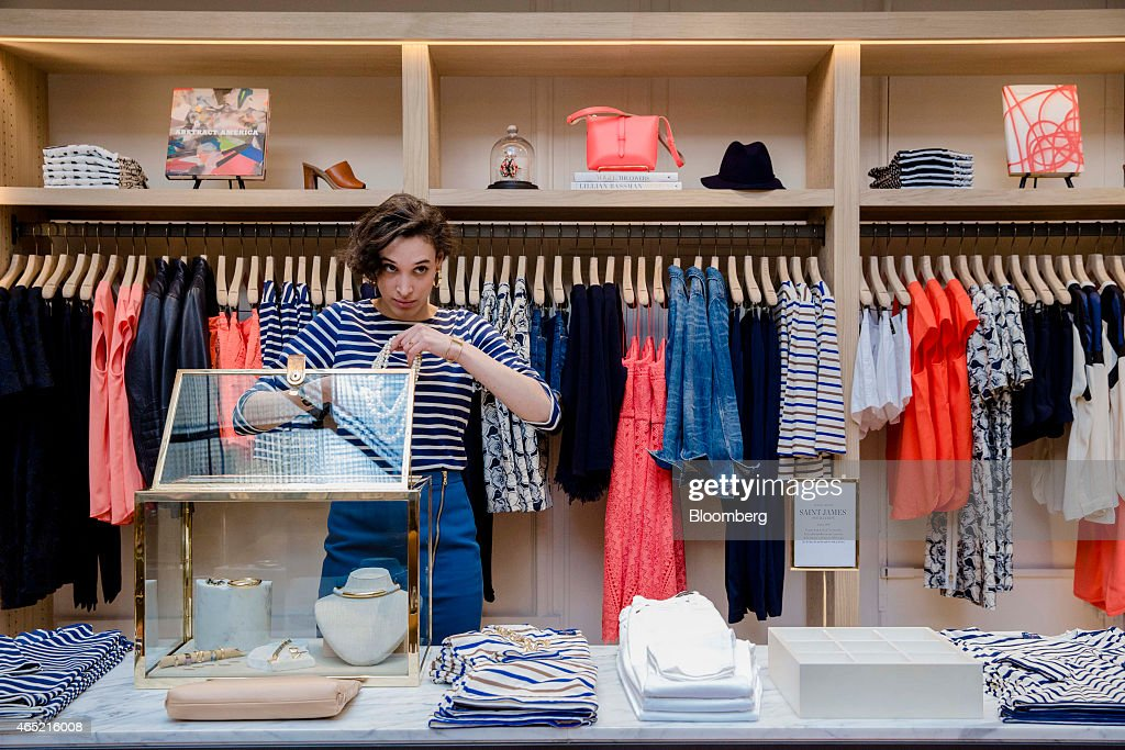 Clothing store employee