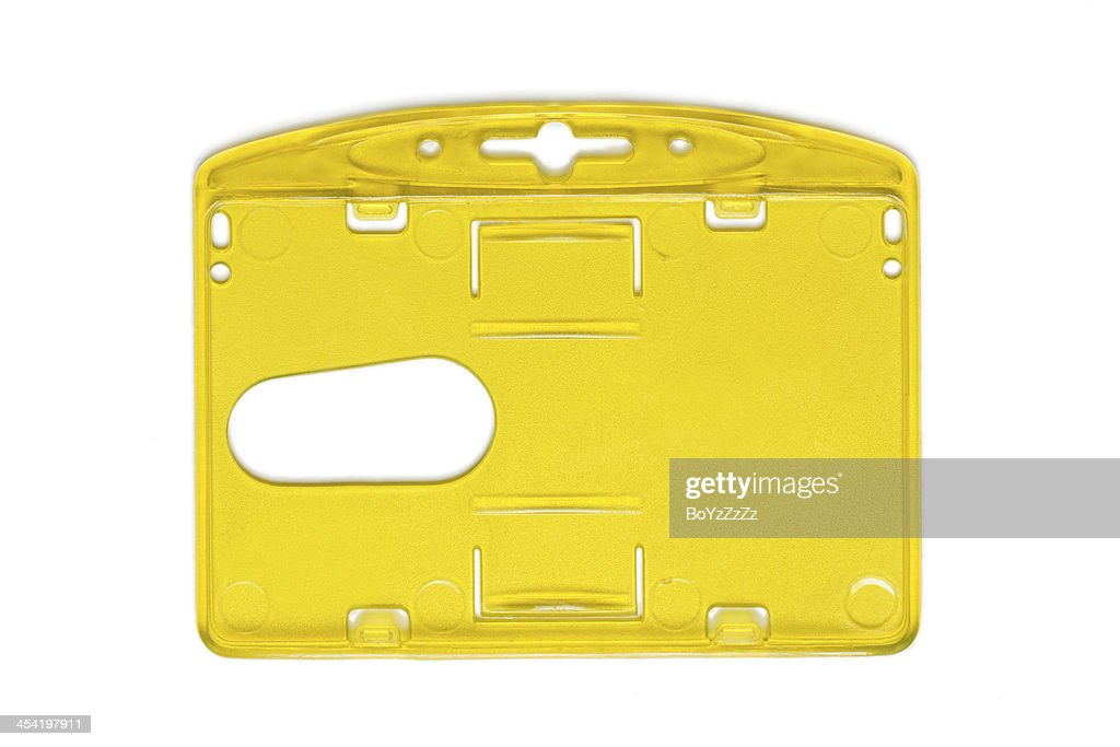 Cartão de empregado : Foto de stock