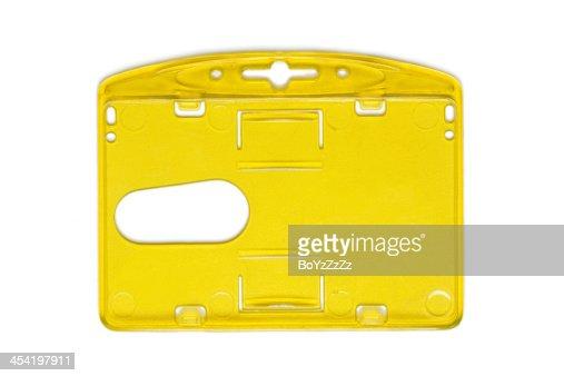 La tarjeta del empleado : Foto de stock