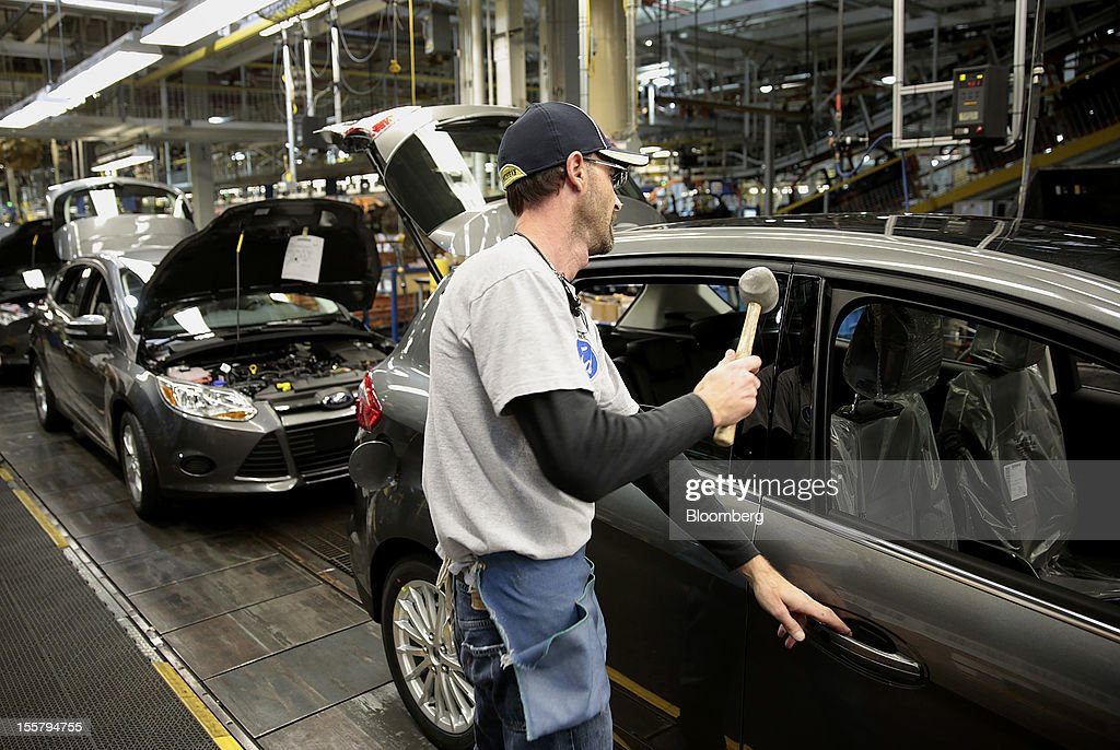 employee jeff jennings works on a ford motor co c max energi plug in. Cars Review. Best American Auto & Cars Review