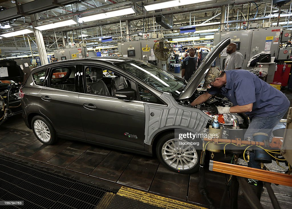 employee khris howe works on a ford motor co c max energi plug in. Cars Review. Best American Auto & Cars Review