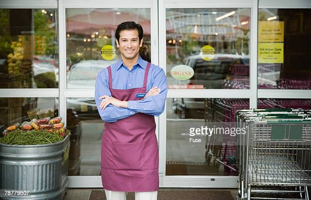 Employee of Health Food Supermarket