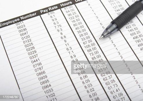 Employee Spreadsheet