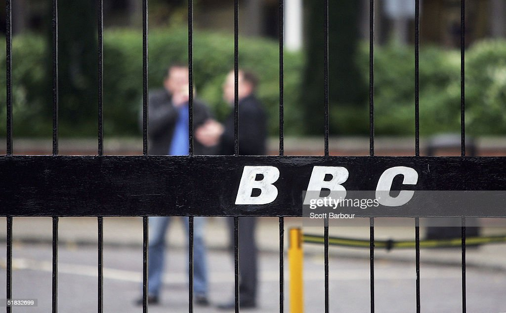 BBC employees are seen at the BBC headquarters on December 7, 2004 in London, England. About 2,900 jobs are expected to be cut at the British Broadcasting Corporation, resulting in savings that are needed so that more of the money from licence fees can be put into programmes.