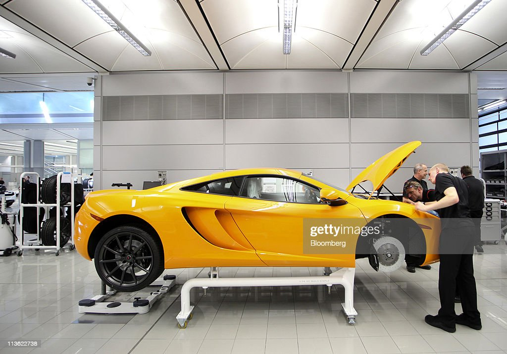 Mclaren Launch And Manufacturing Photos And Images Getty Images