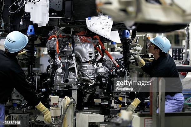 Toyota Motor Manufacturing Plant Stock Photos And Pictures