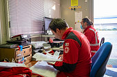 ITA: Red Cross Workers On The Frontline In The Coronavirus Battle