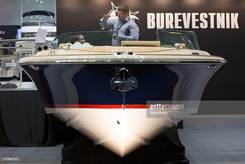 The Moscow Boat Show 2014 Getty Images