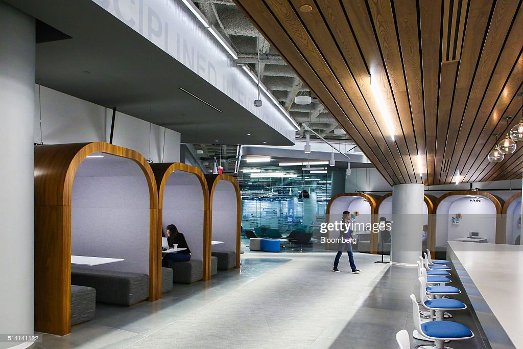 Inside jpmorgan chase co 39 s new technology hub getty for Intranet interior