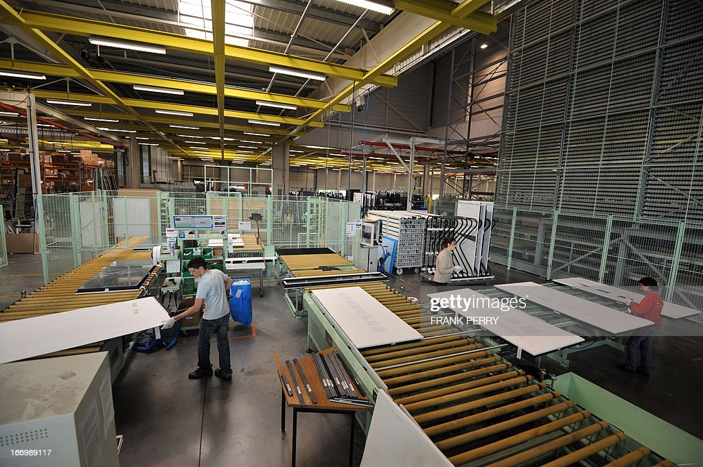employees work at k line plant part of the liebot groupe and pictures getty images. Black Bedroom Furniture Sets. Home Design Ideas