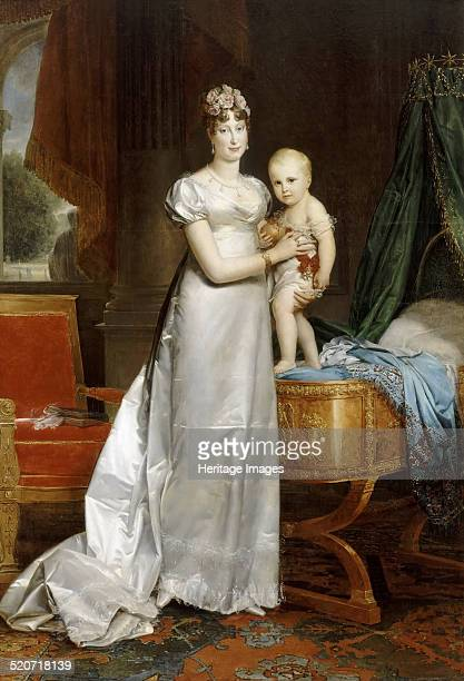 Empress MarieLouise With the King of Rome Found in the collection of Musée de l'Histoire de France Château de Versailles