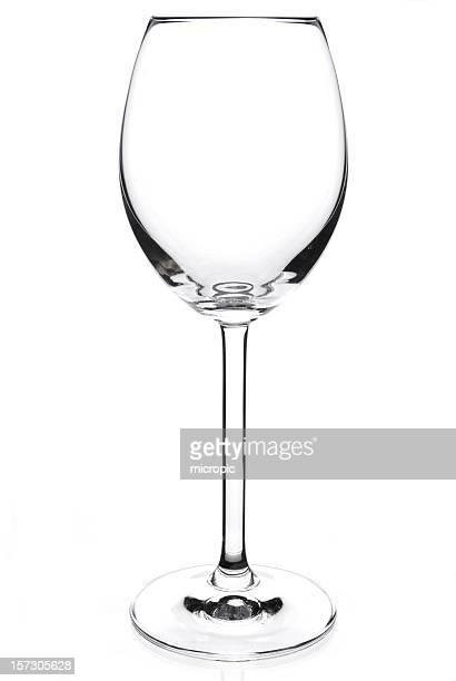 空のグラスワイン