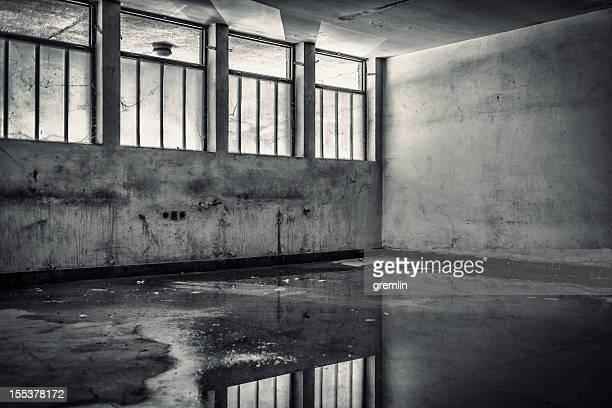 Empty abandoned room