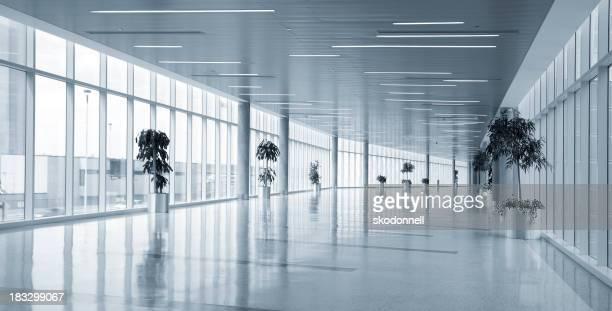 Área del aeropuerto de vacío