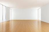 Empty Apartment living room