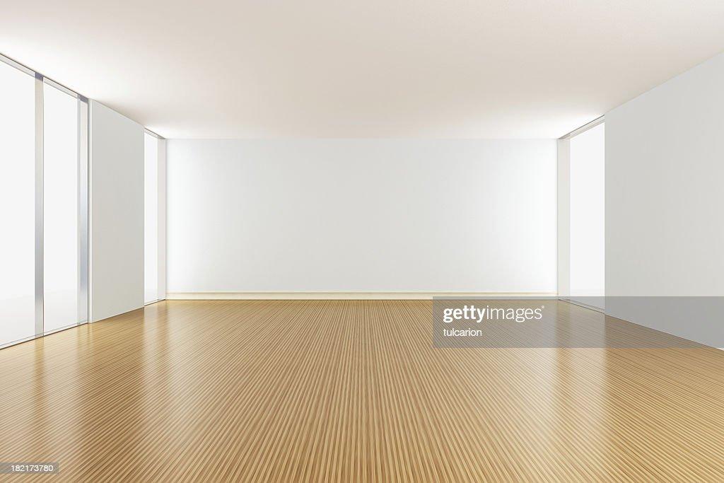 Empty Apartment Living Room : Stock Photo