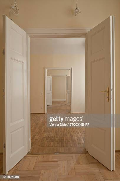 Empty apartment, Vienna, Austria