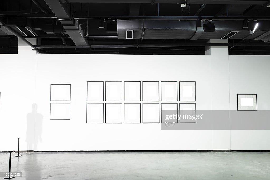 empty art museum